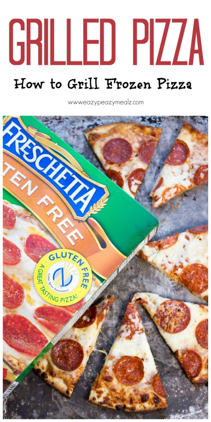 Grilled Pizza: How to Grill Frozen Pizza