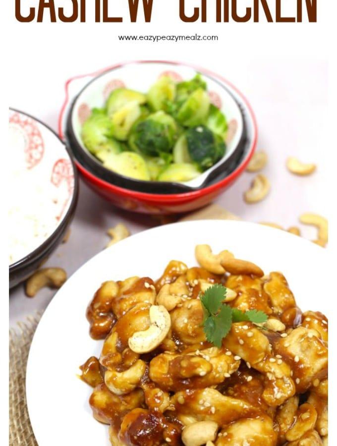 Super Simple Cashew Chicken