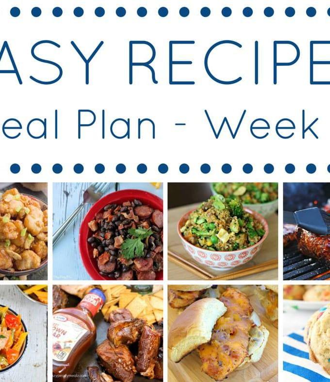 Week 5: Easy Recipes Meal Plan