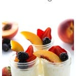 Lactose free tapioca pudding is delicious and easy to make.