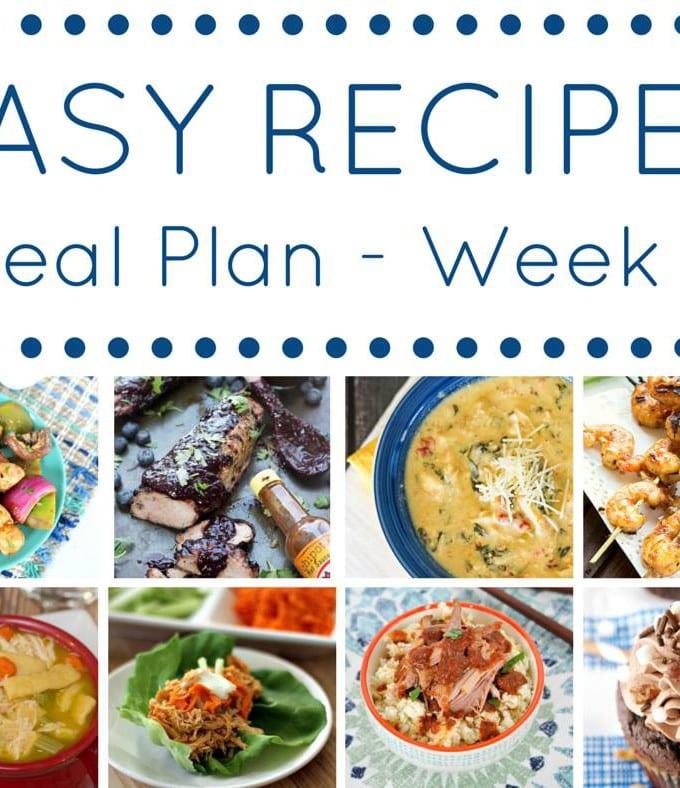 Week 6: Easy Recipes Meal Plan