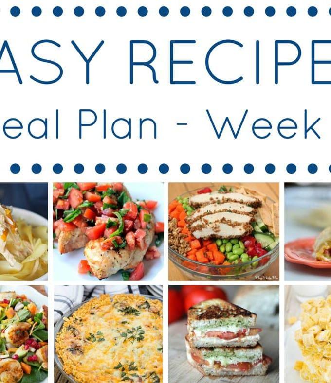 Week 8: Easy Recipe Meal Plan