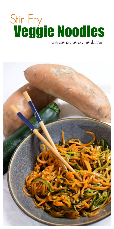 stir fry veggie noodles hero