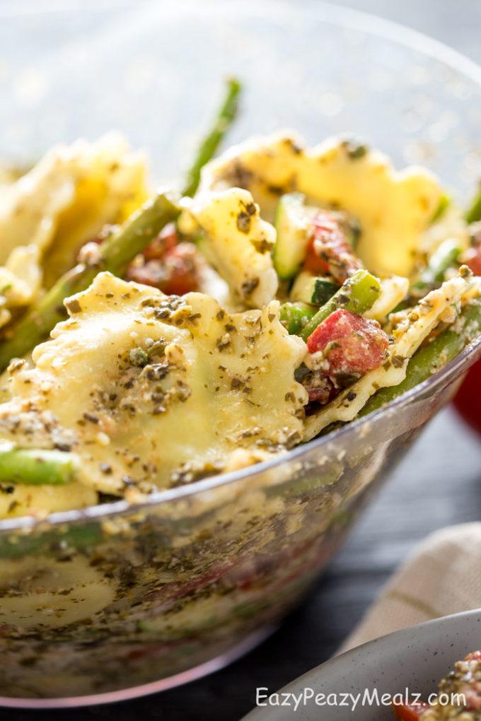 Asparagus Pasta Close Up
