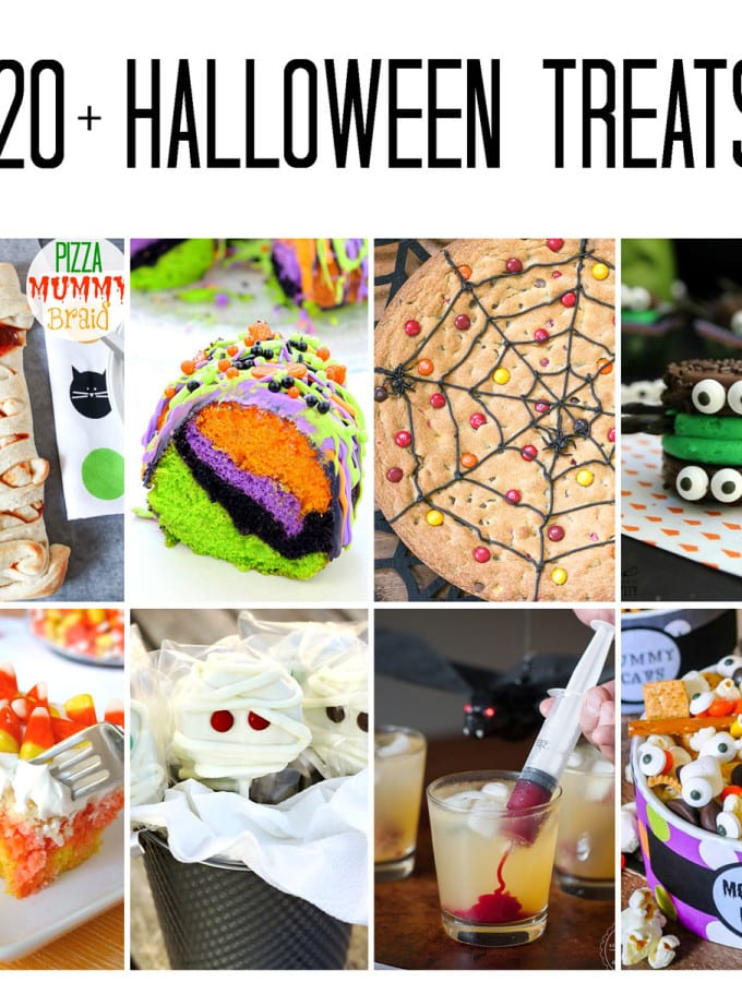 20 + Spooktacular Halloween Treats
