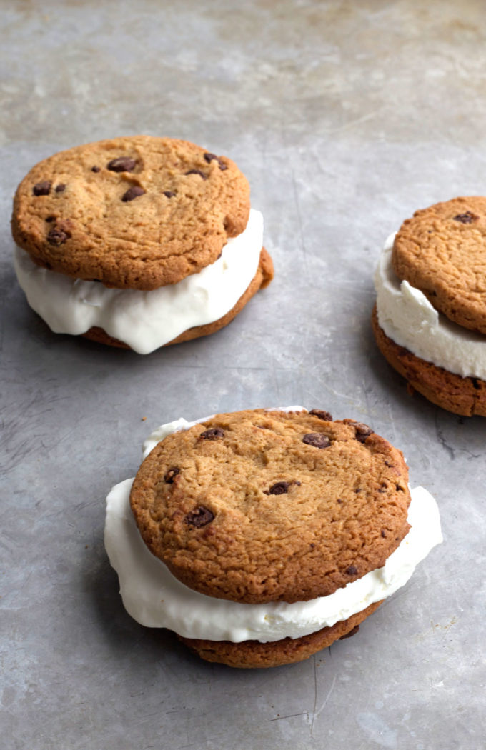 Homemade Ice Cream Cookie Sandwich - Eazy Peazy Mealz