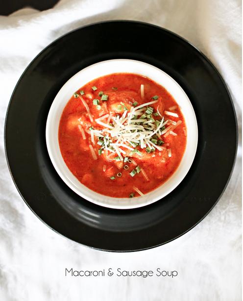 Macaroni Sausage Soup
