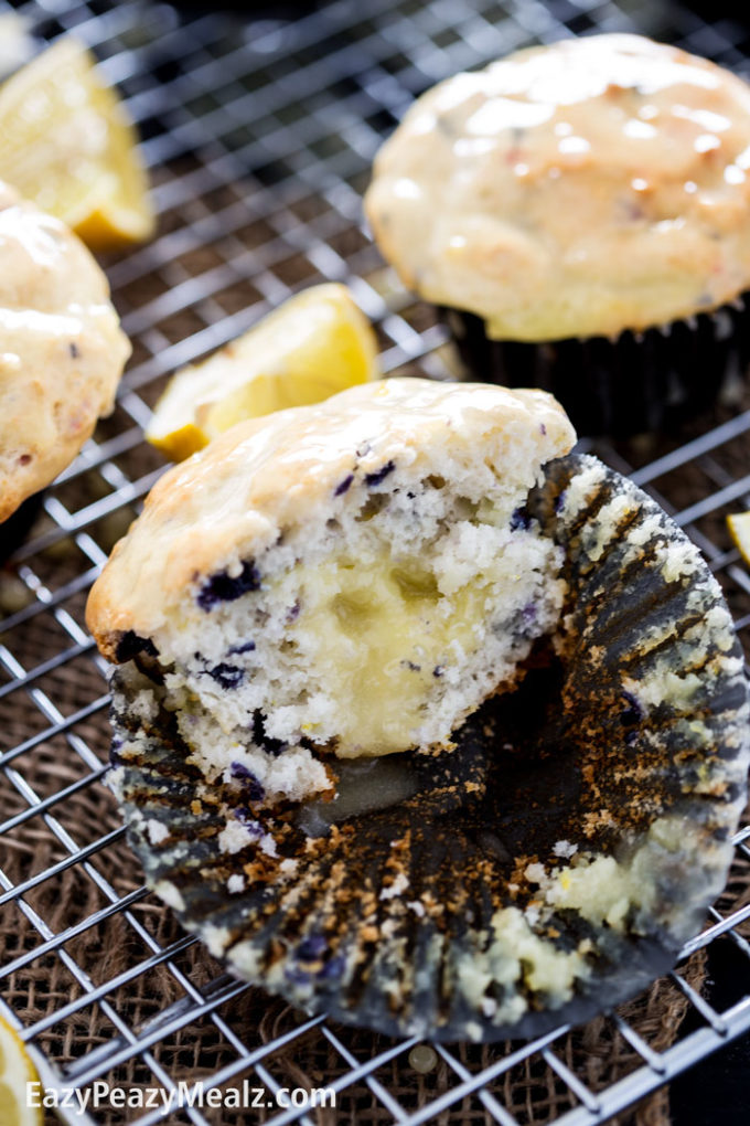 lemon-blueberry-filled-muffin