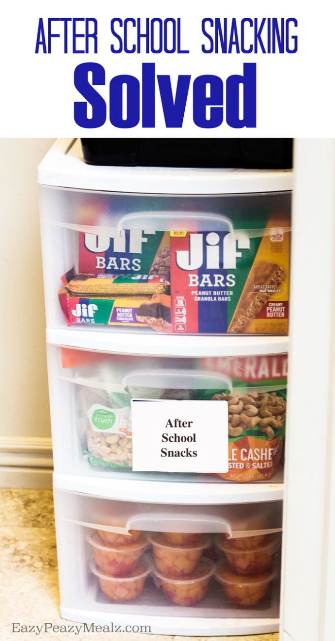 After School Snack Dilemma Solved - Easy Peasy Meals