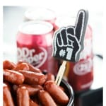 Dr Pepper Little Smokies cooked in a slow cooker and perfect for game time