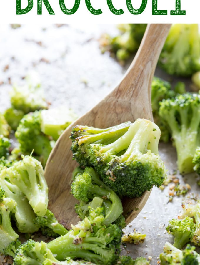 Garlic raosted broccoli is healthy, delicious, and easy to make.