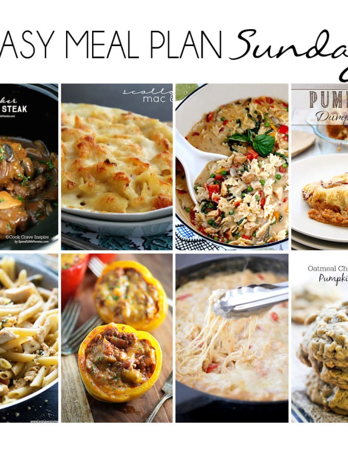 Easy Meal Plan 15