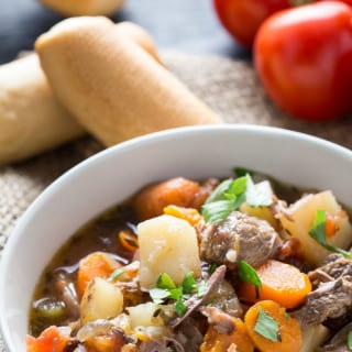 Italian Beef Stew (Slow Cooker)