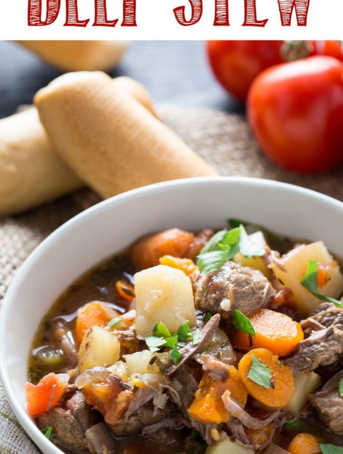 Italian Beef Stew (Slow Cooker)