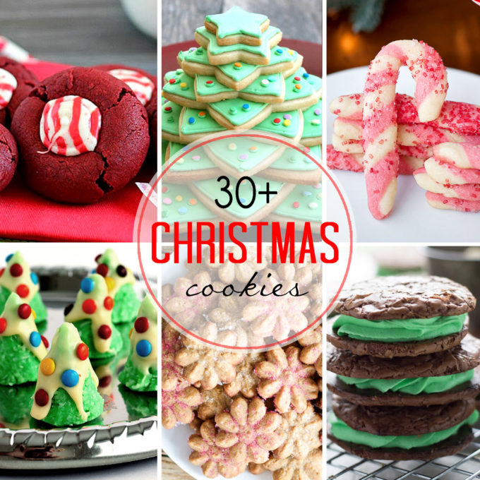 30 Christmas cookie ideas sure to make your holidays amazing.