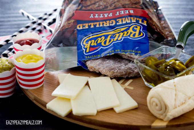 Ingredients-for-burger-wraps