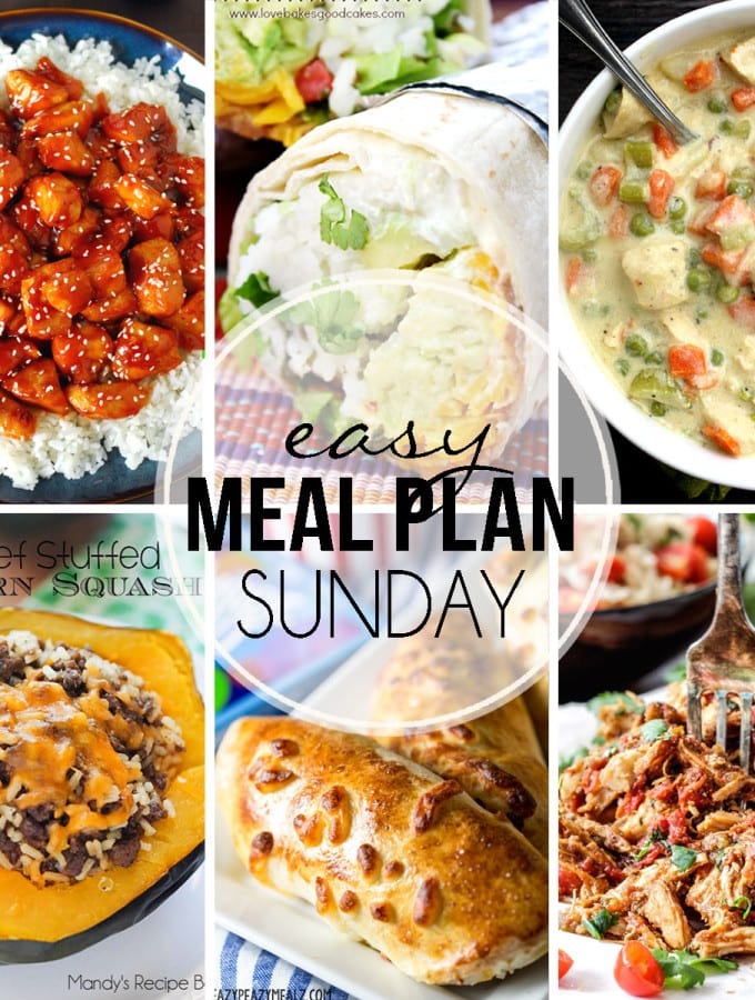 Easy Meal Plan #23