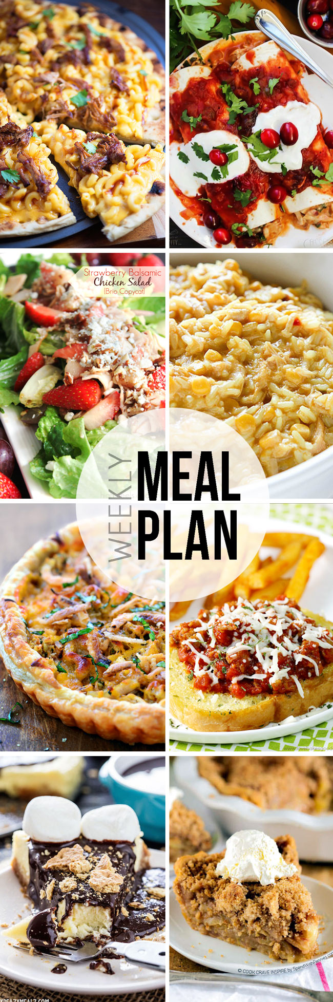 Take the hassle out of meal planning with this weekly menu
