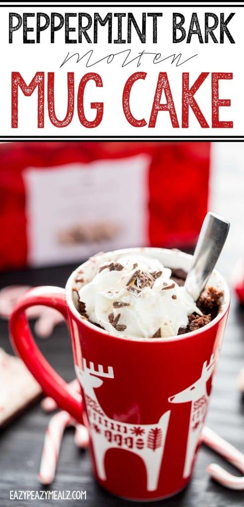 Easy Molten Chocolate Mug Cake