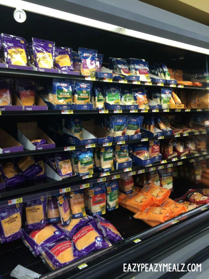 kraft cheese aisle