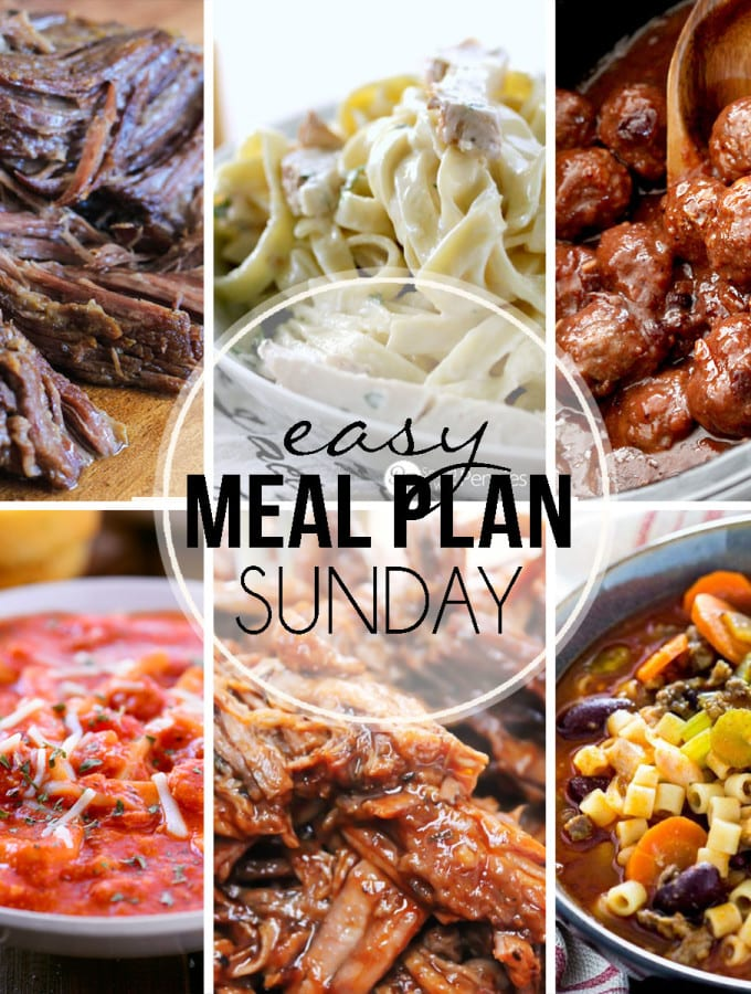 Easy Meal Plan #27