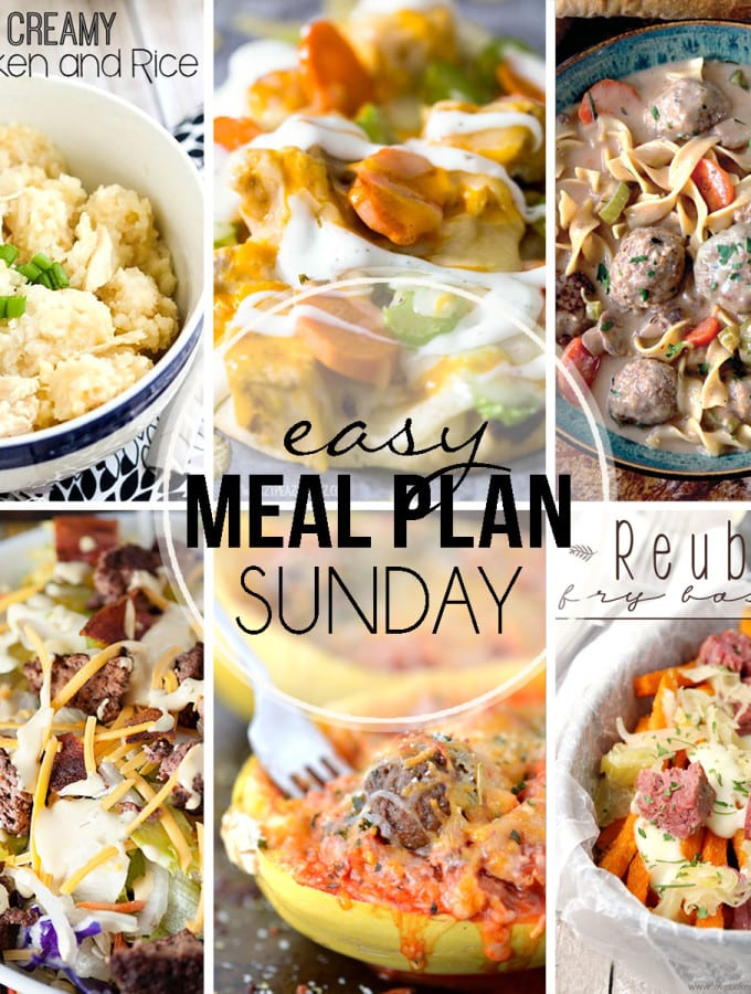 Easy Meal Plan #28