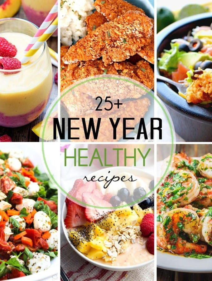 25+ Healthy New Year's Recipes