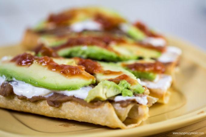 toppings-for-tacos-dorados