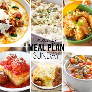 Easy Meal Plan #29