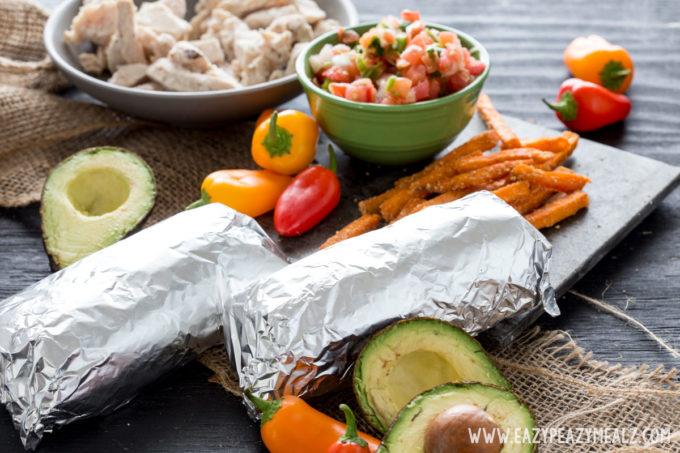 burritos-in-foil