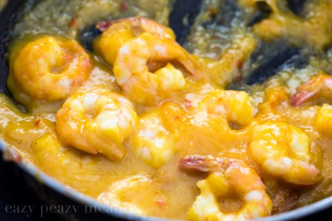 Mango Shrimp Lettuce Wraps - Eazy Peazy Mealz