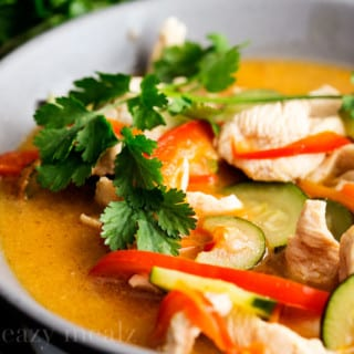 Thai Chicken Curry Coconut Soup + 10 Soups to Warm You From The Inside Out