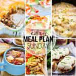 Meal Plan Week 35 FB