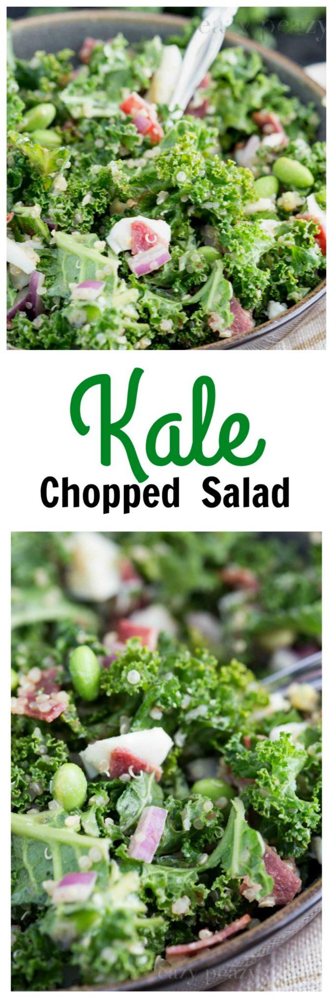 PIN Kale chopped salad