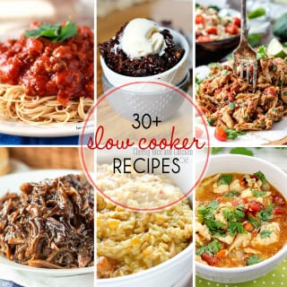 30 + Slow Cooker Recipes