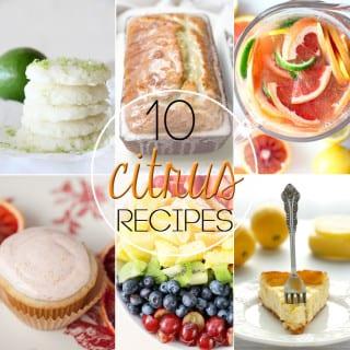 10 Citrus Recipes