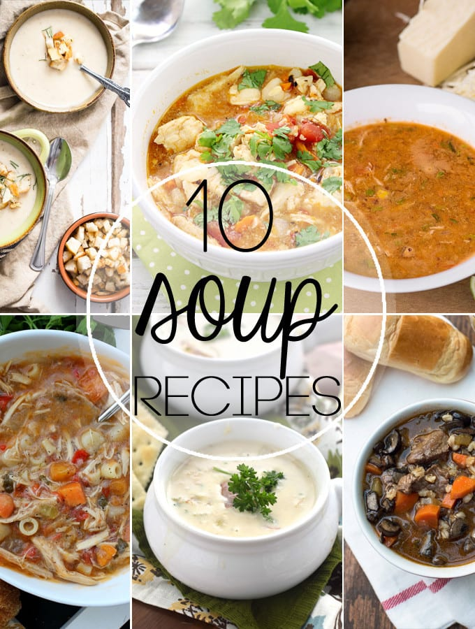 10 Soup Recipes!