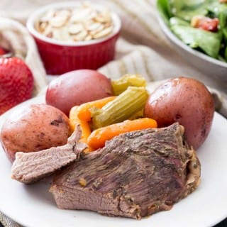 Spinach Berry Salad and Tyson® Meal Kits Beef Roast