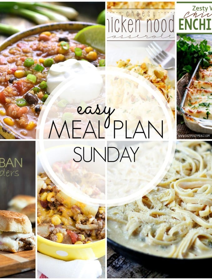Easy Meal Plan 39