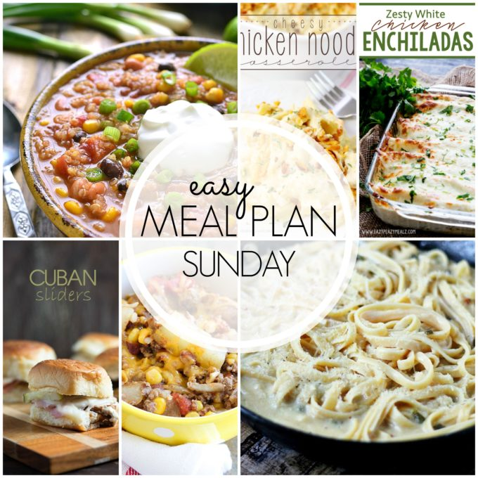 EASY MEAL PLAN FB