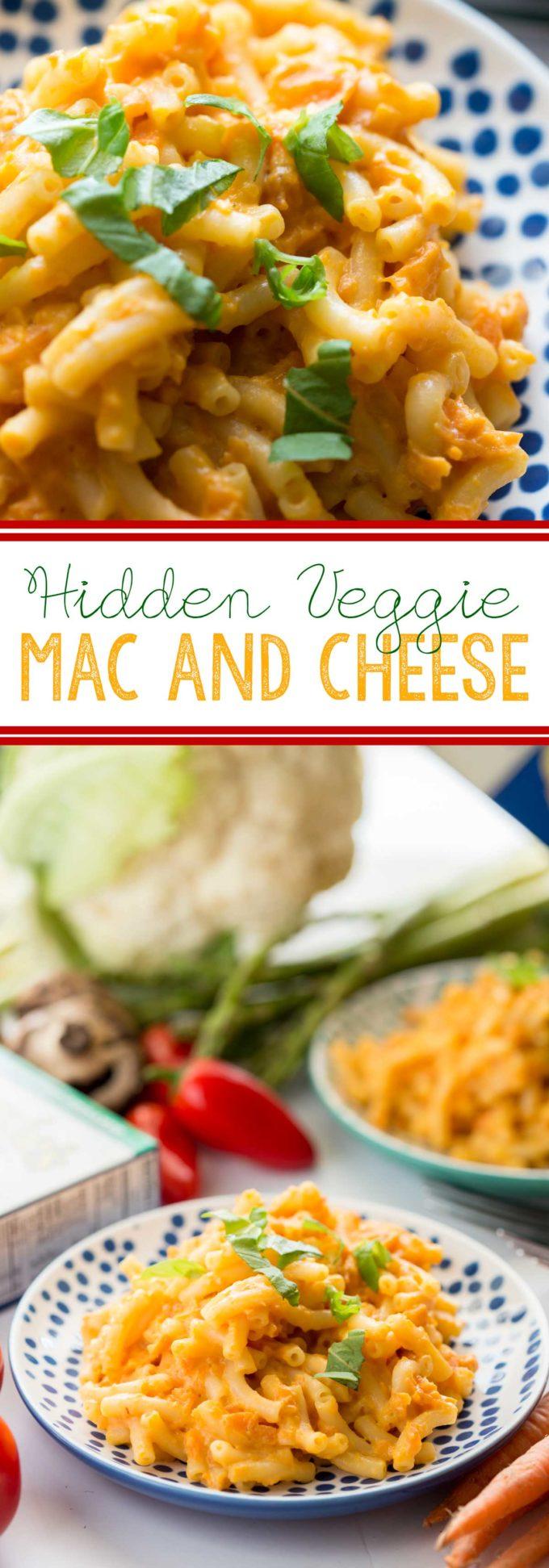 Hidden veggie mac and cheese easy peasy meals hidden veggie mac pin forumfinder Images