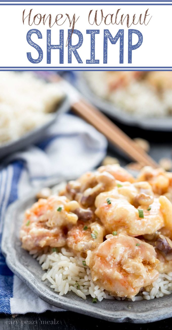 Honey Walnut Shrimp: Inspired by our favorite take-out, with an insanely delicious sauce! You won't believe how easy this is to make.