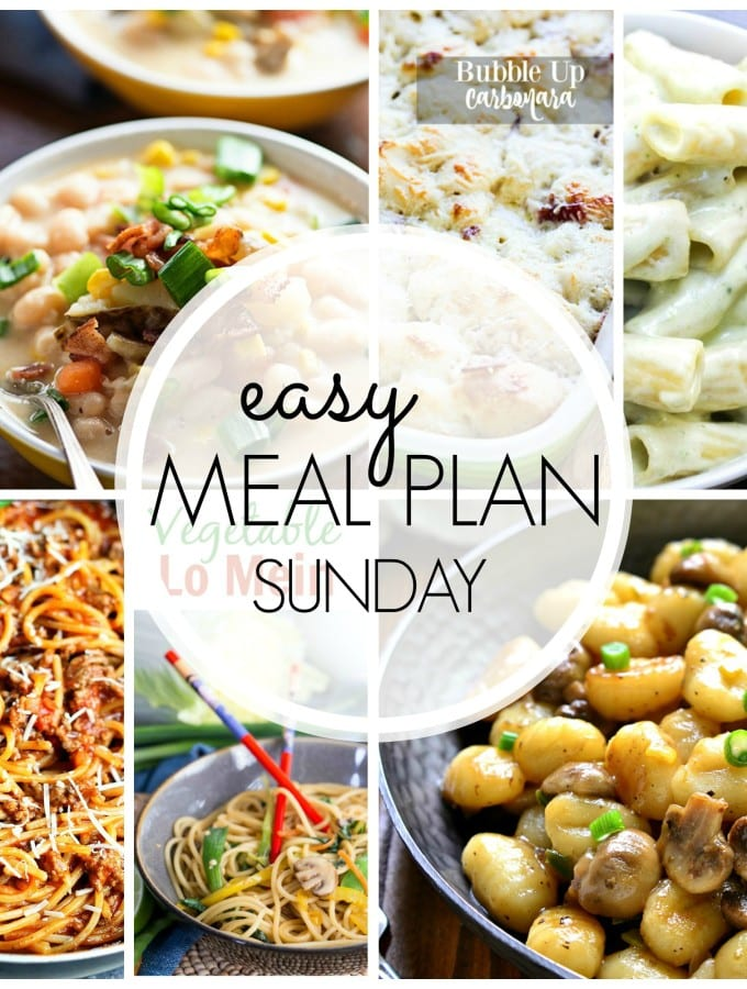 Easy Meal Plan #38