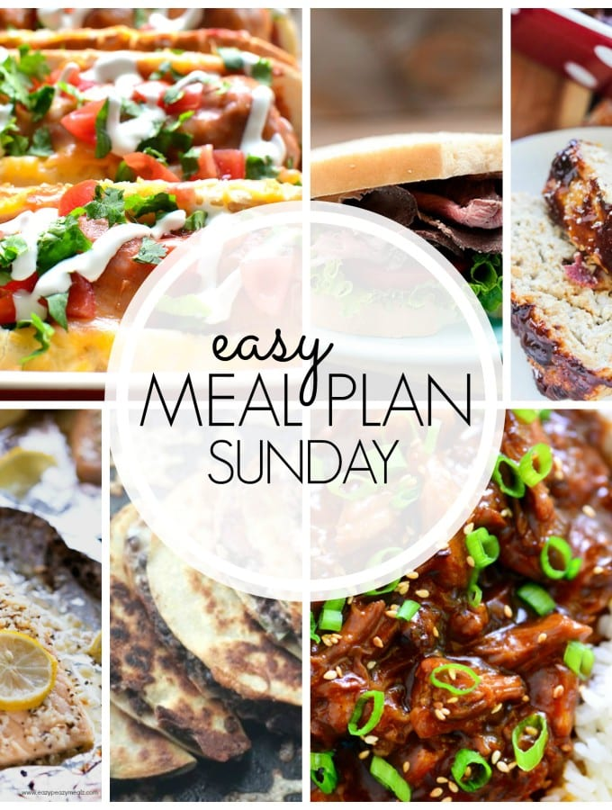 Meal plan recipe planning