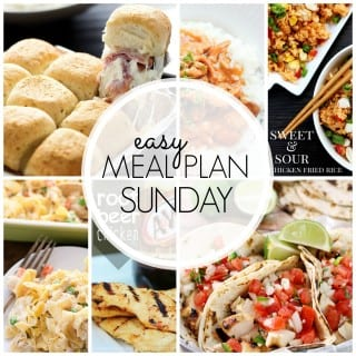 Easy Meal Plan #43