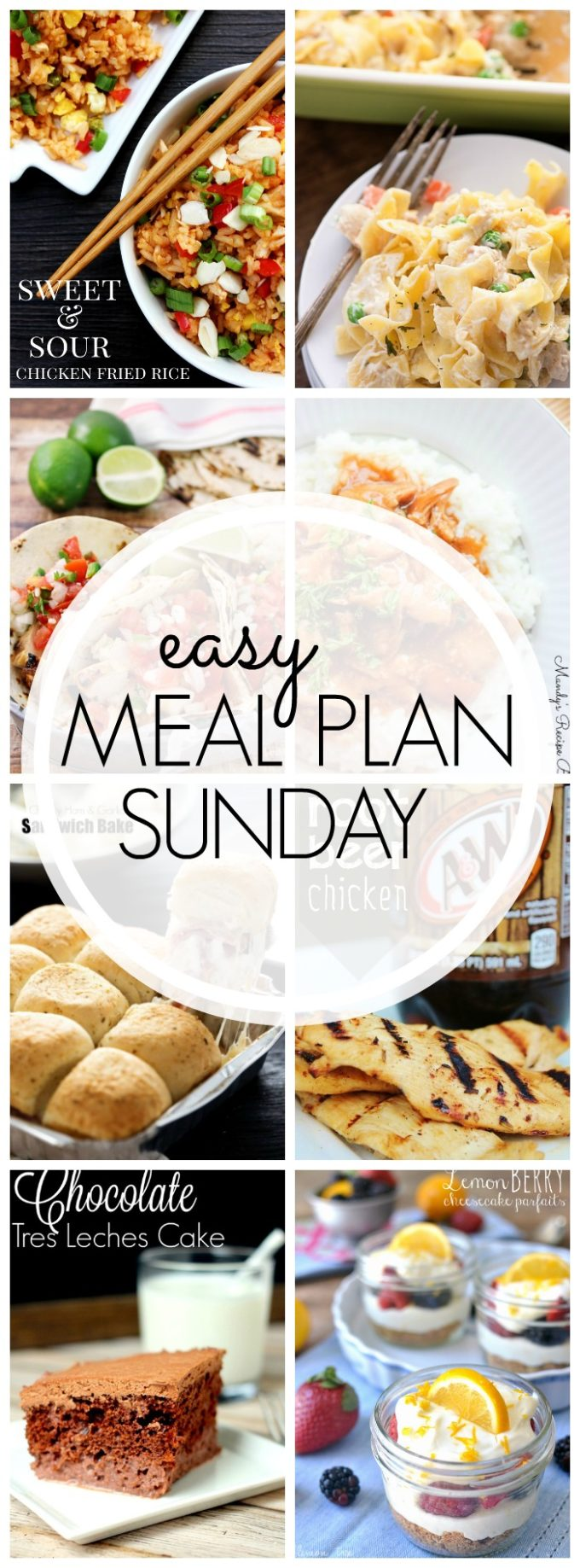 A week of delicious meals all in one place to make your meal planning quick, easy, and tasty!