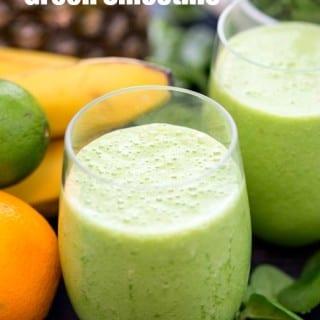 Slimming green smoothie