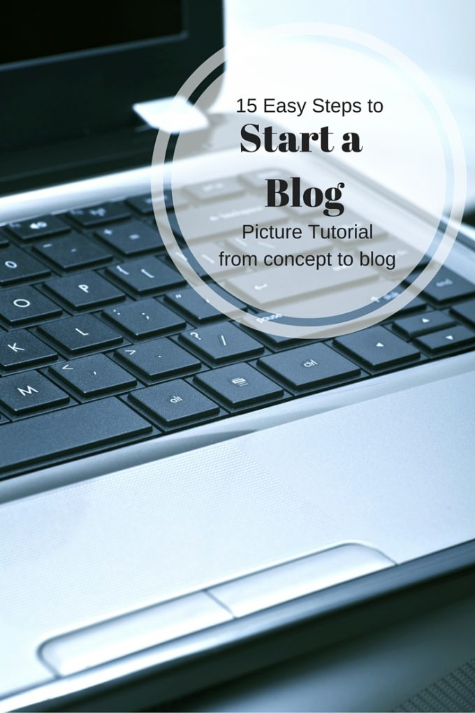 How to easily start a blog