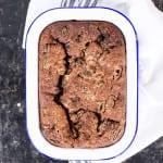 Simple Choc Banana Brownie Cake