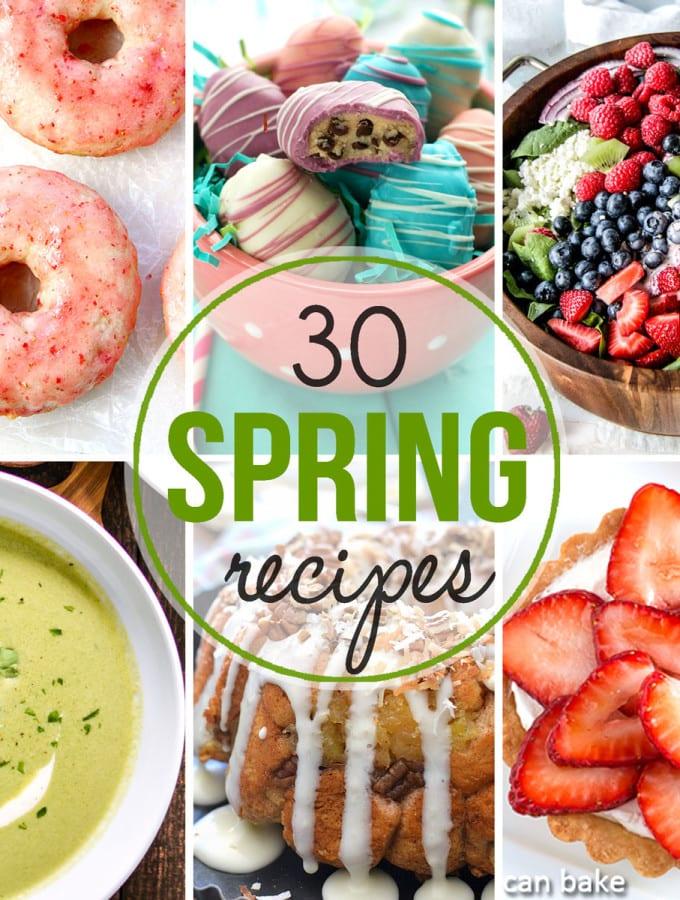 30 Spring Recipes